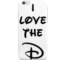 I love the D (Disney inspired) Bachelor or Bachelorette shirt iPhone Case/Skin