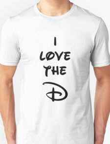 I love the D (Disney inspired) Bachelor or Bachelorette shirt T-Shirt