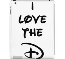 I love the D (Disney inspired) Bachelor or Bachelorette shirt iPad Case/Skin