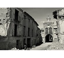 Belchite Photographic Print