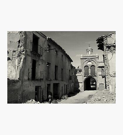 Belchite Photographic Print