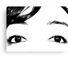 Cemetary Eyes Canvas Print