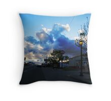 Colfax On A Stormy Day Throw Pillow