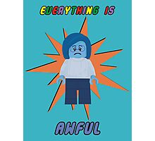 Everything is Awful Photographic Print