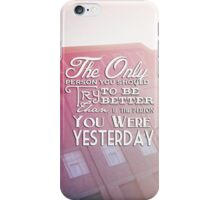The Only Person iPhone Case/Skin