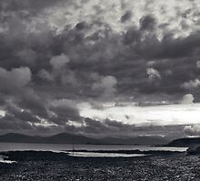 Evening in fenit by Paul Woods