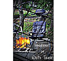 White Trash Photographic Print