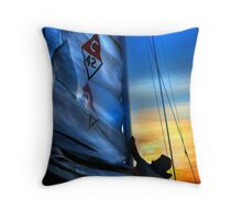 Set The Mast Down by: Linaji Throw Pillow