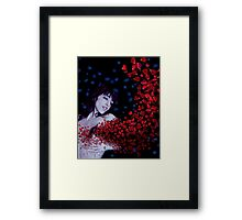 my heart has been stolen Framed Print