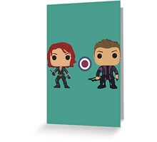 The Assassins Greeting Card