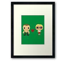 Oliver and Felicity  Framed Print