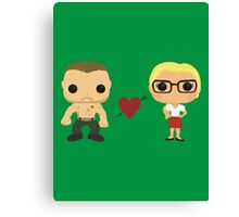Oliver and Felicity  Canvas Print