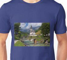 St. Sebastian Church, Ramsau Bei Berchtesgaden Unisex T-Shirt