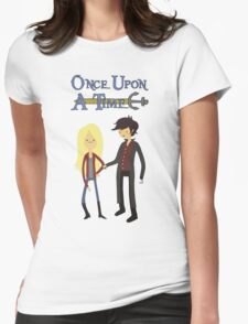 Once Upon An Adventure Time Womens Fitted T-Shirt