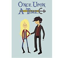 Once Upon An Adventure Time Photographic Print