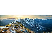 Cross Cut Saw, Mt Howitt, Alpine National Park, Victoria, Australia Photographic Print