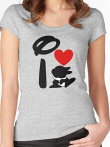 I Heart Thumper Women's Fitted Scoop T-Shirt