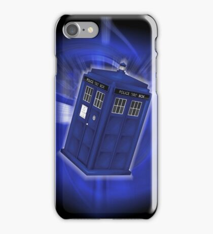 TARDIS Through Time iPhone Case/Skin