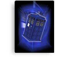 TARDIS Through Time Canvas Print