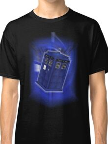 TARDIS Through Time Classic T-Shirt