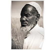 African Muslim Sheik (series): facing forward Poster