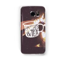CAMPFIRES & TEA Samsung Galaxy Case/Skin