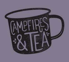 CAMPFIRES & TEA Kids Tee