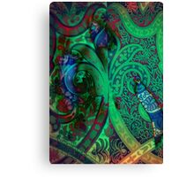 3792 Abstract Patterning Canvas Print