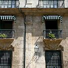 Balconies in Havana, Cuba by Maggie Hegarty