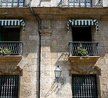 Balconies in Havana, Cuba by Maggie Hegarty