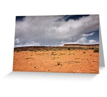 A Sere and Lonely Land Greeting Card
