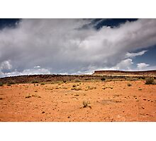 A Sere and Lonely Land Photographic Print