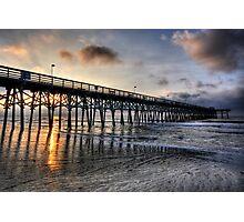 Sunrise in Myrtle Beach Photographic Print