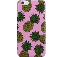 PINEAPPLE - PINK iPhone Case/Skin