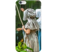 Caught Something  iPhone Case/Skin