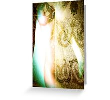 3784 Abstract Nude Figure Greeting Card