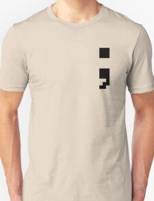 Semi-Colon 8-BIT Unisex T-Shirt