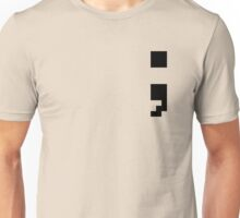 Semi-Colon 8-BIT Unisex T-Shirt