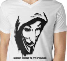 V Mens V-Neck T-Shirt