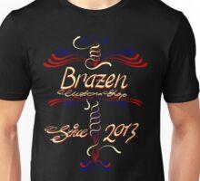 pinstipe crest Unisex T-Shirt