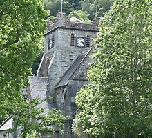 Betws-y-coed Church by shawn50