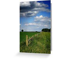 Tyringham Summer Landscape Greeting Card