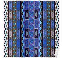 African design, pattern Poster