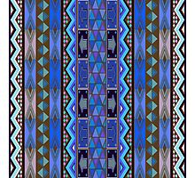 African design, pattern Photographic Print