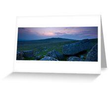 Dartmoor Devon Greeting Card