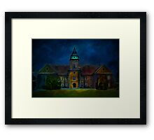 Dzikow Castle Framed Print