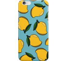 MANGO - BLUE iPhone Case/Skin