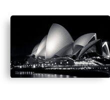 Sydney Opera House @ Night Canvas Print
