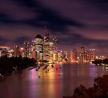 Brisbane @ sunset by makatoosh