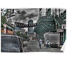 Fenway Park Gate E Poster